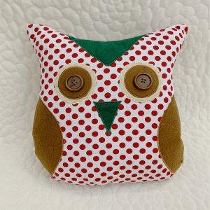 Декоративная подушка сова в форме SHEIN. Цвет: многоцветный