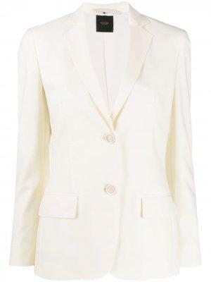 Приталенный жакет с карманами Agnona. Цвет: нейтральные цвета