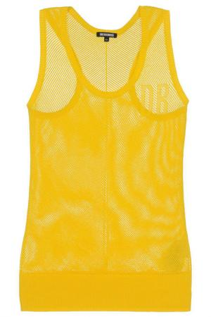 Пуловер Dirk Bikkembergs. Цвет: желтый