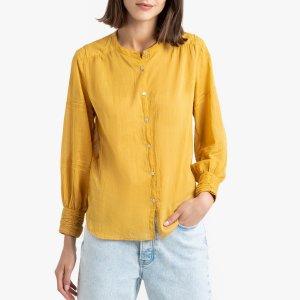 Блузка LaRedoute. Цвет: желтый