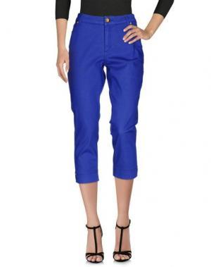 Джинсовые брюки-капри MARANI JEANS. Цвет: фиолетовый