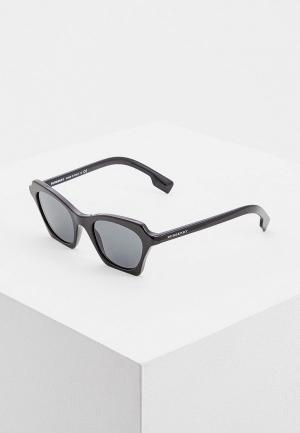 Очки солнцезащитные Burberry BE4283 300187. Цвет: черный