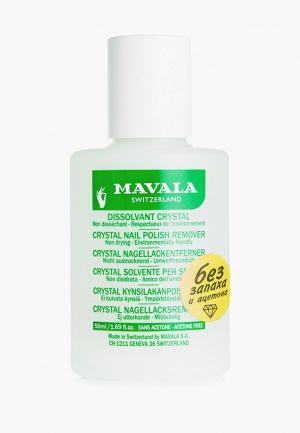 Средство для снятия лака Mavala без запаха Crystal, 50 мл. Цвет: прозрачный