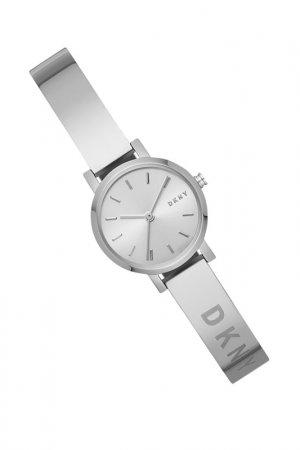 Часы наручные DKNY. Цвет: серебряный