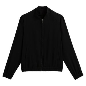 Куртка-бомбер LaRedoute. Цвет: черный