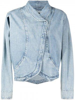 Джинсовая куртка с эффектом потертости Isabel Marant. Цвет: синий