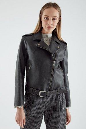 Куртка-косуха Черешня. Цвет: черный