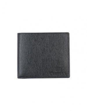 Бумажник CHURCH'S. Цвет: черный