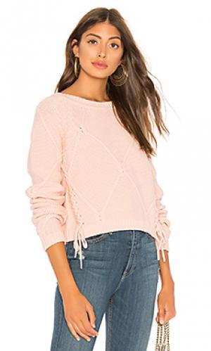 Пуловер pam Tularosa. Цвет: розовый