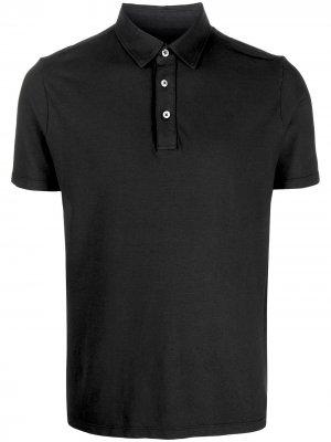 Рубашка-поло с короткими рукавами Altea. Цвет: черный