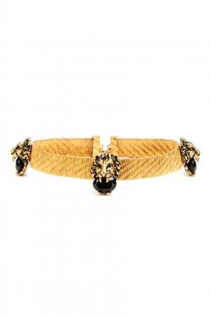 Ожерелье-чокер Lion Head Gucci. Цвет: золотой