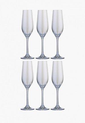 Набор бокалов Decogallery. Цвет: прозрачный