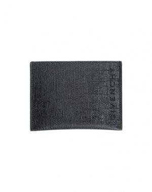 Чехол для документов GIVENCHY. Цвет: черный