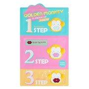 3-х ступенчатый набор средств для ухода за губами Golden Monkey Glamour Lip 3-Step Kit Holika