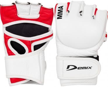 Перчатки MMA, Белый, S-M Demix. Цвет: белый