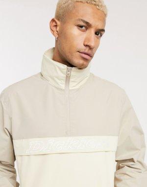 Бежевая куртка на короткой молнии Poydras-Коричневый Dickies