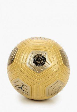 Мяч футбольный Nike PSG NK STRK-JORDAN HO20. Цвет: золотой
