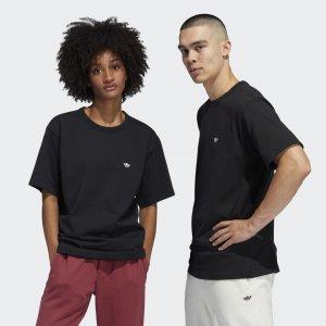 Футболка Shmoo (Унисекс) Originals adidas. Цвет: черный