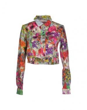 Куртка FORNARINA. Цвет: фуксия