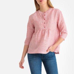 Блузка LaRedoute. Цвет: красный