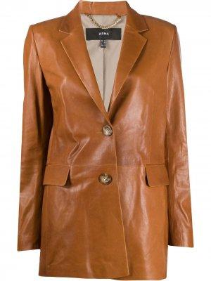 Однобортный пиджак Arma. Цвет: коричневый
