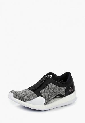 Кроссовки adidas PUREBOOST X TR ZIP. Цвет: серый