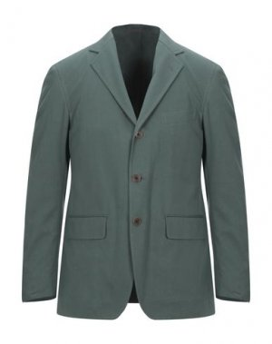Пиджак CAMOSHITA by UNITED ARROWS. Цвет: темно-зеленый