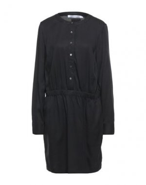 Короткое платье CALVIN KLEIN JEANS. Цвет: черный