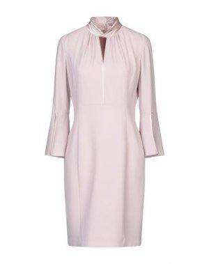 Платье до колена ELIE TAHARI. Цвет: розовый