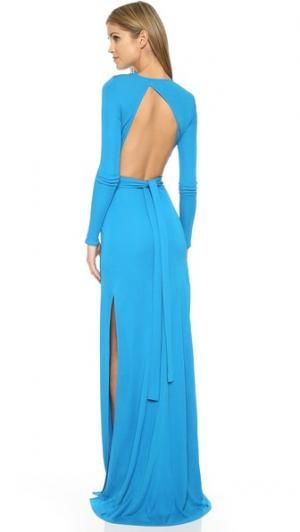 Вечернее платье Gitta ISSA. Цвет: аквамарин