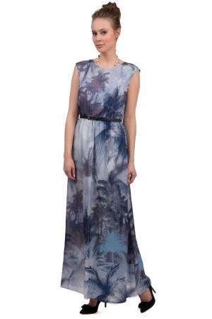 Длинное платье Taifun. Цвет: разноцветный