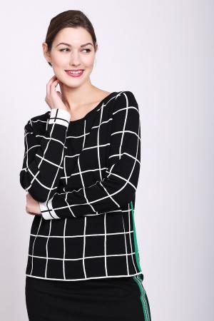 Пуловер Bianca. Цвет: чёрный