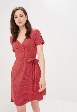 Платье Roxy. Цвет: красный
