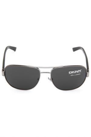 Очки солнцезащитные DKNY. Цвет: 101187