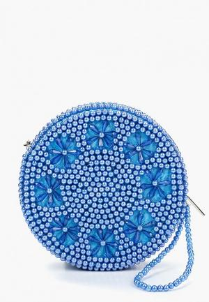 Клатч Skinnydip Queenie Clutch - Blue. Цвет: синий