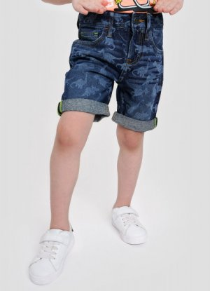 Джинсовые шорты для мальчиков O`Stin. Цвет: светло-синий