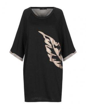 Короткое платье GOLD. Цвет: черный