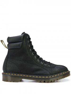 Ботинки на шнуровке Dr. Martens. Цвет: черный