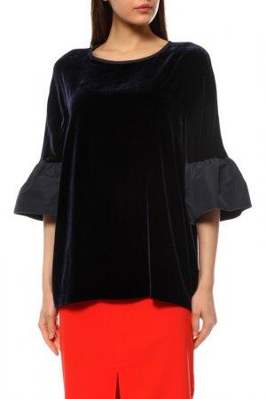Пуловер MAXMARA. Цвет: темно-синий