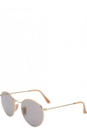 Солнцезащитные очки Ray-Ban. Цвет: золотой
