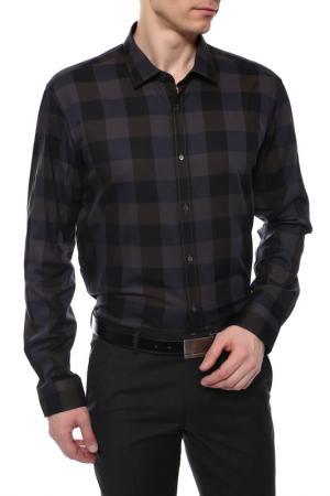 Рубашка Joop. Цвет: коричневый