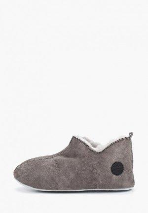 Тапочки Shepherd. Цвет: серый