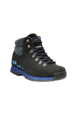 Ботинки Ascot. Цвет: black, nubuck, navy blue