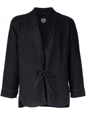 Рубашка-кимоно Herringbone Gold / Toyo Enterprise. Цвет: чёрный