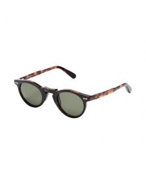 Солнечные очки MOVITRA. Цвет: коричневый