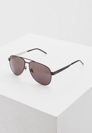 Очки солнцезащитные Saint Laurent SL M53 001. Цвет: черный