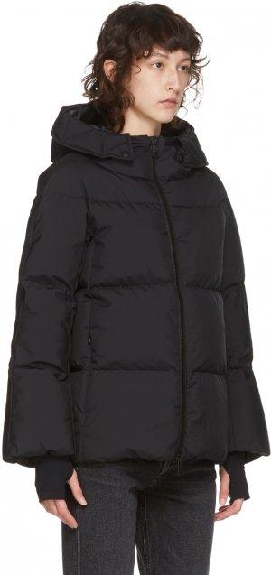 Black Down Gore-Tex® Windstopper Jacket Herno. Цвет: 9300 black