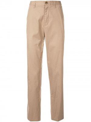Классические брюки чинос Kent & Curwen. Цвет: коричневый