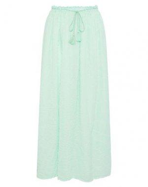 Длинная юбка ANTIK BATIK. Цвет: светло-зеленый