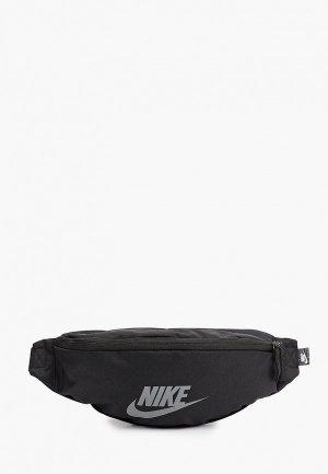 Сумка поясная Nike NK HERITAGE WAISTPACK - FA21. Цвет: черный